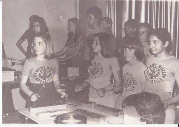 Cours de Musique 5eme  73-74